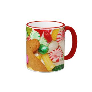 Christmas gingerbread cookie coffee mug