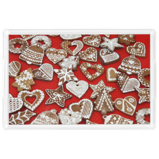 Christmas Gingerbread Cookies Extra-Large Tray