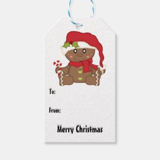 Christmas Gingerbread Gift Tags