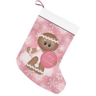 Christmas Gingerbread Holiday cartoon stocking