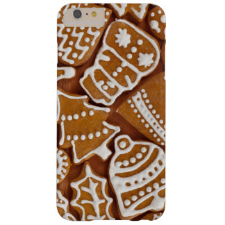 Christmas Gingerbread Holiday Cookies Barely There iPhone 6 Plus Case