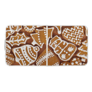 Christmas Gingerbread Holiday Cookies Beer Pong Table