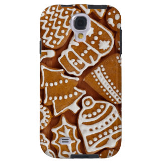 Christmas Gingerbread Holiday Cookies Galaxy S4 Case