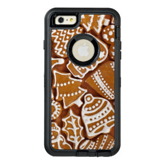 Christmas Gingerbread Holiday Cookies OtterBox Defender iPhone Case