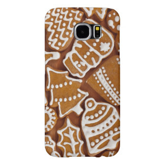 Christmas Gingerbread Holiday Cookies Samsung Galaxy S6 Cases