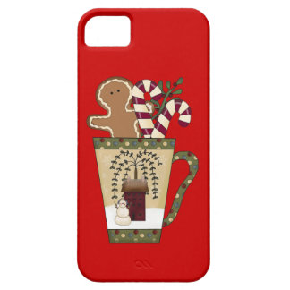 Christmas Gingerbread Holiday Greetings iPhone 5 Case