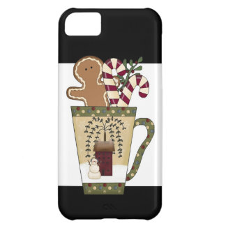 Christmas Gingerbread Holiday Greetings iPhone 5C Case