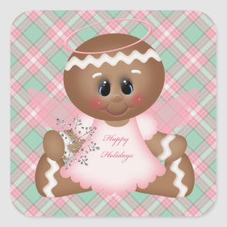 Christmas Gingerbread Holiday Sticker