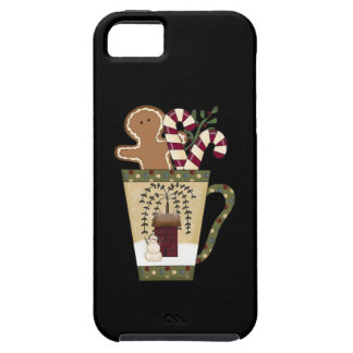 Christmas Gingerbread Holidays Tough iPhone 5 Case