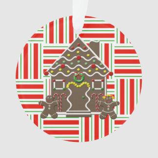 Christmas Gingerbread House Boy Girl Custom Year