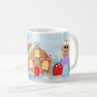 Christmas Gingerbread land Holiday mug