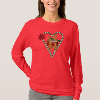 Christmas Gingerbread Men Cute Holiday T-Shirt