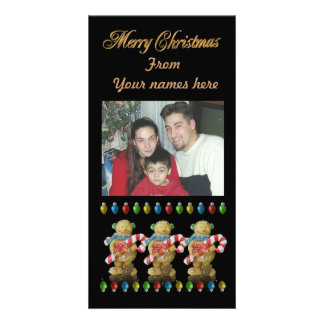 Christmas Gingerbread Photo card