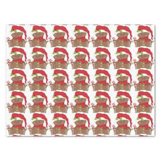 Christmas Gingerbread Tissue Paper