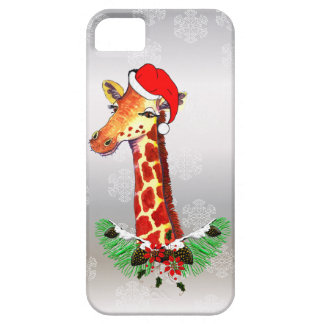 Christmas Giraffe iPhone 5 Case