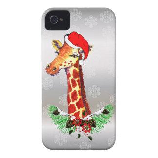 Christmas Giraffe Blackberry Bold Covers
