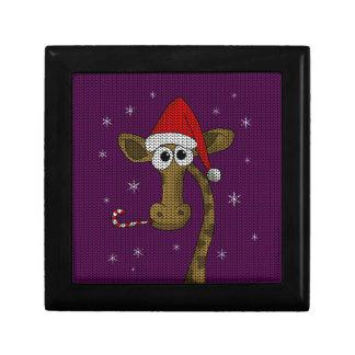 Christmas Giraffe Gift Box