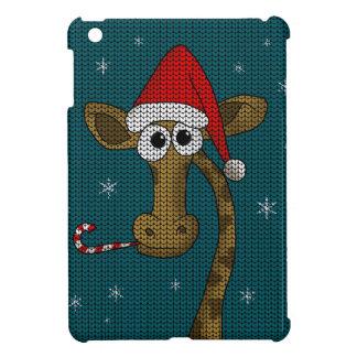 Christmas Giraffe iPad Mini Case