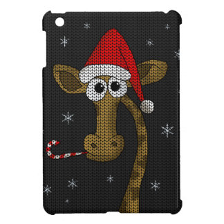 Christmas Giraffe iPad Mini Cover