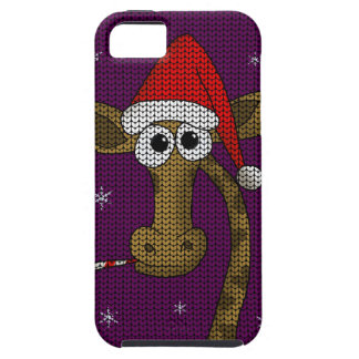 Christmas Giraffe iPhone 5 Cases