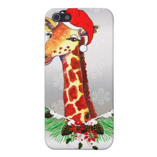 Christmas Giraffe Cover For iPhone 5