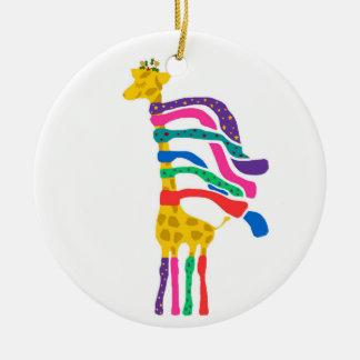 Christmas Giraffe Ornament