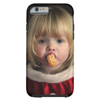Christmas girl - christmas child - cute girl tough iPhone 6 case
