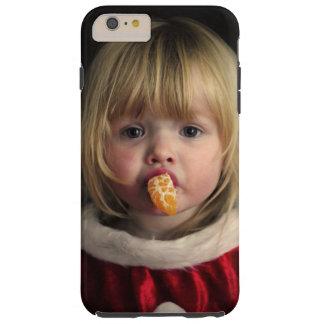 Christmas girl - christmas child - cute girl tough iPhone 6 plus case