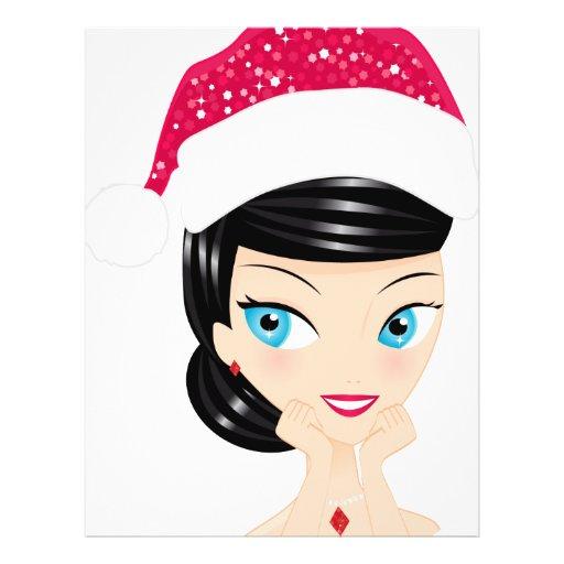 Christmas Girl Full Color Flyer