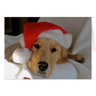 Christmas Golden Card