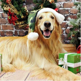 Christmas - Golden Retriever - Conor Acrylic Cut Outs