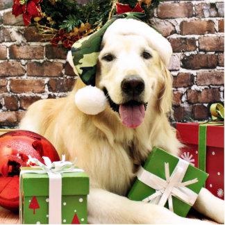 Christmas - Golden Retriever - Hudson Photo Cut Out