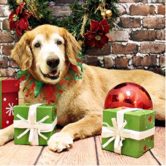 Christmas - Golden Retriever - Izzy Photo Sculpture