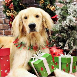 Christmas - Golden Retriever - Ozzy Photo Sculpture