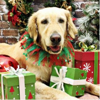 Christmas - Golden Retriever - Penuche Photo Cut Out
