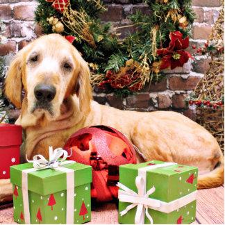 Christmas - Golden Retriever- Riley Photo Cutouts