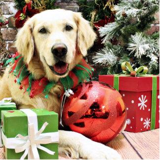 Christmas - Golden Retriever - Shylo Photo Cutout