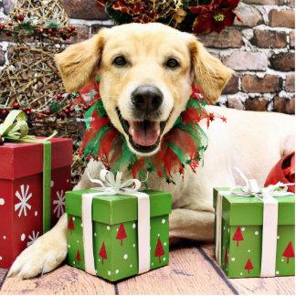 Christmas - Golden Retriever - Winslow Photo Cut Outs