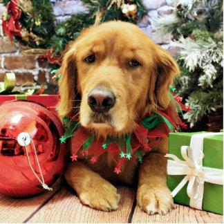 Christmas - Golden Retriever - Zoe Cut Outs