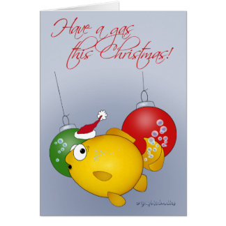 Christmas Goldfish! Card