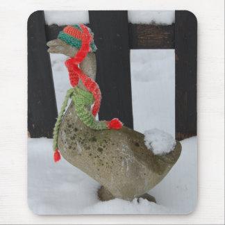 Christmas Goose Mousepad