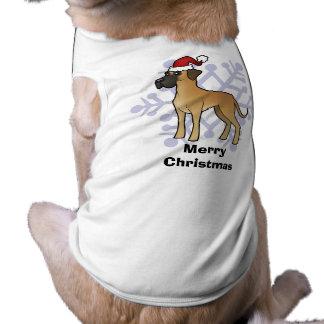 Christmas Great Dane Dog Clothing