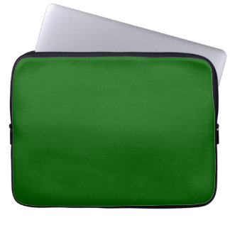 Christmas Green Forest Color Trend Blank Template Computer Sleeves