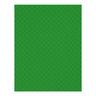 Christmas Green Quilted Pattern Flyers