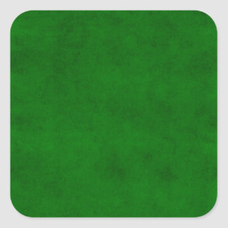 Christmas Green Solid Holiday Color Background Square Sticker