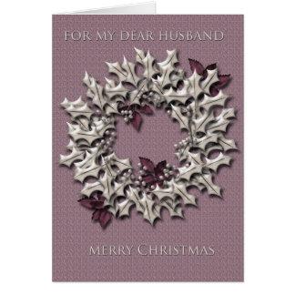 Christmas greeting card for Husband