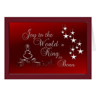 Christmas Greeting Card/Joy to the World Card