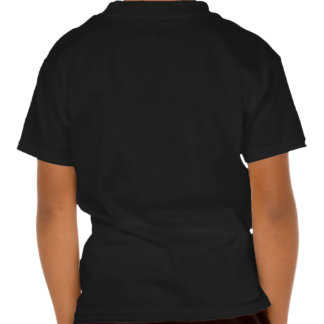 Christmas greeting with a kid like an angel holds t shirts