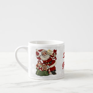 Christmas Greetings 2 Espresso Cup
