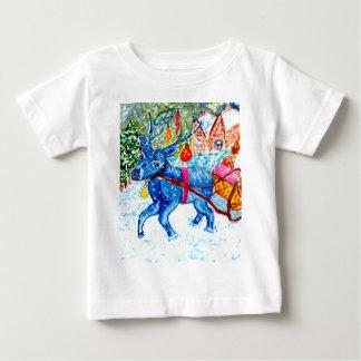Christmas Greetings Art2 Baby T-Shirt